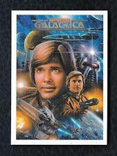 Battlestar Galactica Colonial Warriors ArtiFEX Cards by Chris Scalf S6 Starbuck
