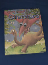 WHO'S THERE DINOSUARS BOOK