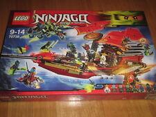 LEGO NINJAGO 70738 IL VOLO FINALE DEL VASCELLO DEL DESTINO Scatola danneggiata
