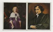47/408 sammelbild Anton Van Dyck-Maria Antoinette-Regina di Francia