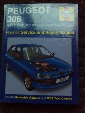 New Haynes Peugeot 306 Manual 3073 1993-2002 Haynes 3073