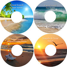 Natural Sounds Relaxation Deep Sleep Stress Relief 4 CD Calming Healing Nature