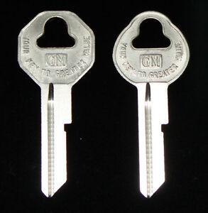 Chevy Fleetline 1937 1938 1939 1940 1941 1942 1943 1944 1945 GM key Blanks