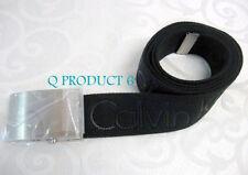 CALVIN KLEIN CK Men Belt Size M/37inch Calvin Klein logo print in Blet Black NWT