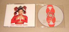 Single CD Janet Jackson-Together Again 6. tracks 1997 RAR 96 MCD J 7