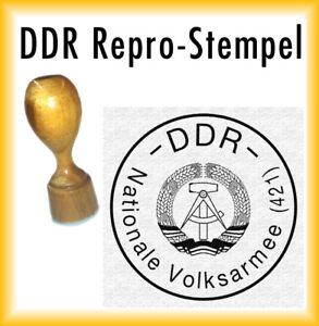 DDR Dienstsiegel - DDR Stempel Nationale Volksarmee NVA
