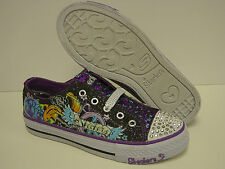 NEW Girls Sz 13.5 C SKECHERS Twinkle Toes Hip Chic 83264L Sneakers Shoes