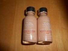 2 bottles Loreal True Match Super Blendable Makeup Titanium Spf17 N1 Soft Ivory