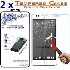[2 Pack] For HTC Desire 825 Ballistics Tempered Glass Screen Protector HD 9H