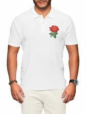 883c0fd1fea England Rugby Polo Shirt Men Rose Badge Six World Nations Supporter Top  Clothes