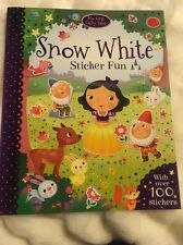 Snow White Sticker Fun Activity Book