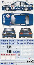 STUDIO 27 1/24 BMW M3 E30 LABATT'S BTCC 1991 DECAL for AOSHIMA HARVEY BRISTOW