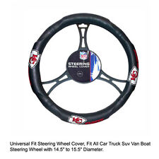 Northwest NFL Kansas City Chiefs Car Truck Suv Van Boat Steering Wheel Cover