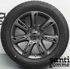 "KIT ALL SEASON RANGE ROVER EVOQUE VELAR 19 "" ORIGINALI ANTRACITE JJ32-1007-AA"