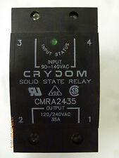 Crydom CMRA2435 Solid State Relay In:90-140VAC Out:120/240VAC 35A New