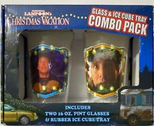 National Lampoon's Christmas Vacation Glass And Ice Cube Tray Combo Pack