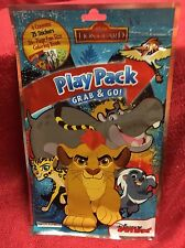 Disney Lion Guard Play Pack Grab & Go! Coloring Book Crayons Stickers Travel