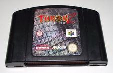 Turok 2 Seeds of Evil Nintendo 64 N64 PAL Dinosuars