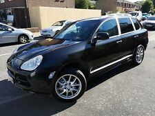 Porsche Cayenne S 4.5 Metallic black. 2005. LPG 90L tank. Gives nearly 40mpg.