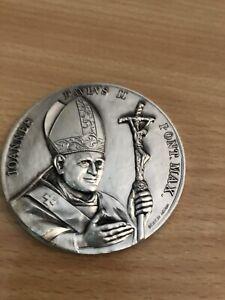 Papst Medaille Vatikan 1983-84 Papst Johannes Paul II