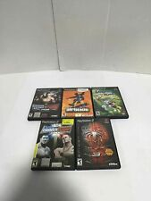 New Listing5 Sony Playstation 2 Video Games-Not Tested