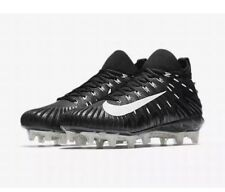 NIKE ALPHA MENACE ELITE FOOTBALL CLEATS BLACK OREO 871519-010 MEN'S 14
