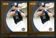 1999 Pacific MIKE PIAZZA Invincible Insert 2 Card Lot