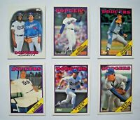 1988 Topps Los Angeles Dodgers Baseball Card Team Set (30 Cards)