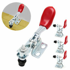 4Pcs Quick Metal Toggle Clamp Horizontal Release Hand Tool For Fixing Workpiece