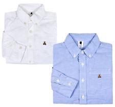 Boys Ex GAP Shirt Baby Boy Long Sleeve Cotton Top Age 18 24 Months 2 3 4 5 Years
