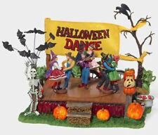 Department 56 Halloween Dance 56.55189 (Retired 2004) Nib Plays Monster Mash!