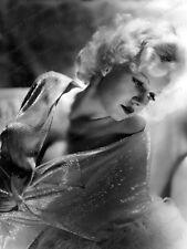 8x10 Print Jean Harlow Beautiful Portrait #JH046
