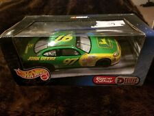 Hot wheels Nascar John Deere Diecast Race Day Deluxe ~SEALED ~