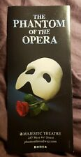 """The Phantom of the Opera"" 2019 Brochure Flyer"