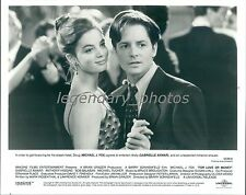 1993 Michael J Fox and Gabrielle Anwar Original News Service Photo