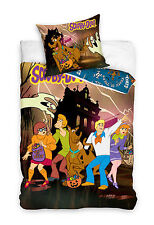 SCOOBY DOO SINGLE DOONA DUVET QUILT COVER BRAND NEW RELEASE ,HAUNTED HOUSE