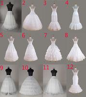 Petticoat crinoline hoopless underskirt  Wedding petticoat prom fishtail mermaid