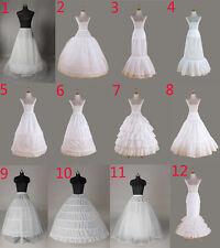 Enaguas enagua nupcial enagua de la boda Hoopless miriñaque vestido de novia