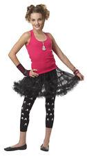 Tween Girls Black Pettiskirt Costume Accessory Size S/M