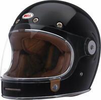 BELL Bullitt DLX Gloss Black Integralhelm Motorradhelm 57-58 cm NEU