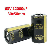 12000uF 63V Amplifier/Audio/Filter High Frequency Electrolytic Capacitor 30x50mm
