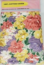 "Padded Ironing Cotton Board Cover and Pad, (54"" boards) Flowers # 1, Lavish"