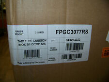 """Frigidaire Professional 30"""" Stainless Steel Gas Cooktop FPGC3077RS New"""