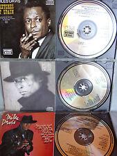 Miles Davis- 3 CDs- Made in Austria- No Barcode-Erstauflagen