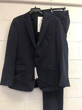 Versace Collection Blue Two Button Suit US SZ 42R EU SZ 52 $898