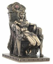 "8.75"" Egyptian Dancer on Chair Egypt Home Decor Statue Figure Sculpture"