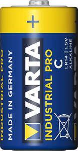 4x Varta Industrial Pro Baby Batterie 4014 LR14 C MN1400 - Bulk