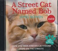 A Street Cat Named Bob James Bowen 2CD Audio Book NEW FASTPOST