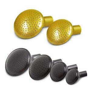 Ersatzbrause Brausekopf Gießaufsatz gold/schwarz f. Gießkanne - 4 Größen wählbar