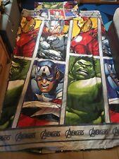 Avengers Marvel Duvet Single Set With Pillow Case